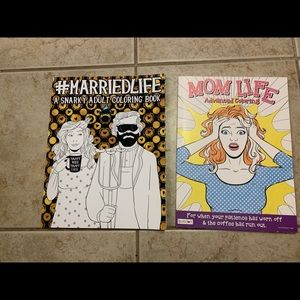 Funny Married Mom Adult Coloring Books